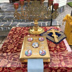 Jumalanäidin Smolenskilaisen ikonin juhla 28.7.2020 Imatralla